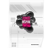 Enchanted 3D Render Design 002 Inspire Poster