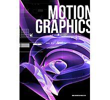 Enchanted 3D Render Design 004 Motion Graphics Photographic Print