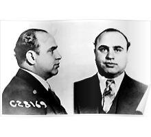 Al Capone Mug Shot Poster