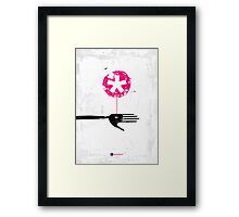 Enchanted Graphic Design Symbols 005 Nurture Framed Print