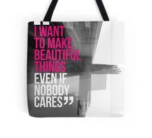 Creative Quote Design 001 Saul Bass Tote Bag