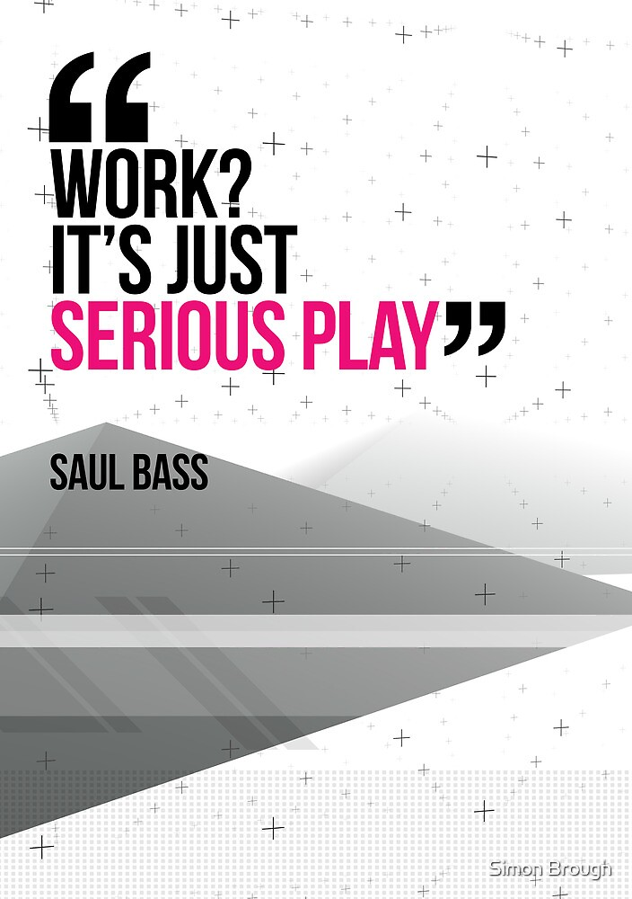Creative Quote Design 002 Saul Bass by Enchanted Studios