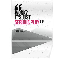 Creative Quote Design 002 Saul Bass Poster