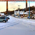 Queensferry Promenade in the snow by Tom Gomez