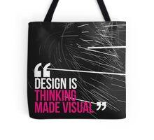 Creative Quote Design 005 Saul Bass Tote Bag