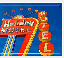Vintage Neon Signs Trio by Edward Fielding