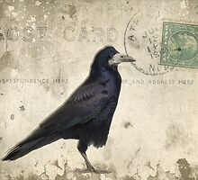 Post Card Nevermore by Edward Fielding