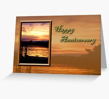 Happy Anniversary Pier Greeting Card