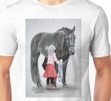 """""""Saying Goodbye to a Unicorn"""" Unisex T-Shirt"""