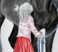 """""""Saying Goodbye to a Unicorn"""" Sticker"""