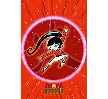 KIMIKO-XIAOLIN DRAGON OF FIRE Photographic Print
