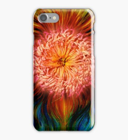 Fire Flower - artistic iphone case iPhone Case/Skin