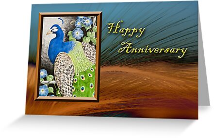 Happy Anniversary Peacock by jkartlife
