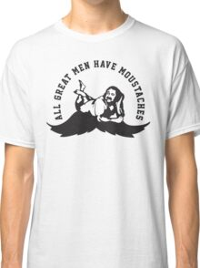Defending Awesome - All Great Men Have Moustache Ron Jeremy Classic T-Shirt