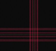 00397 Allt Dubh Tartan Fabric Print Iphone Case by Detnecs2013