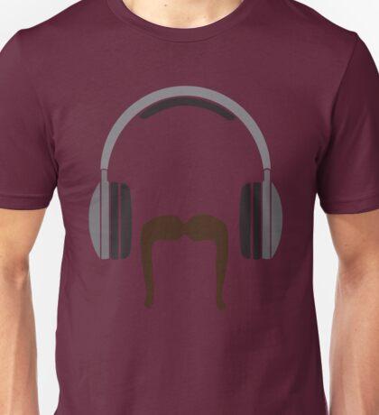 Defending Awesome - Moustache Series - DJ Stash Unisex T-Shirt