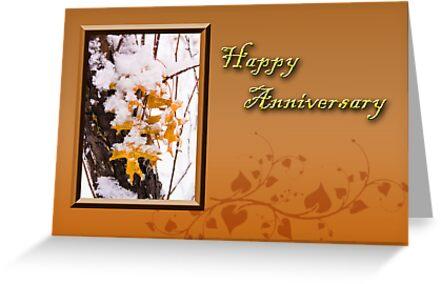 Happy Anniversary Leaves by jkartlife