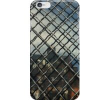 Fence Shadow - artistic iphone 5 case iPhone Case/Skin