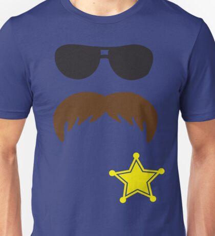 Defending Awesome - Moustache Series - Cop Stash Unisex T-Shirt