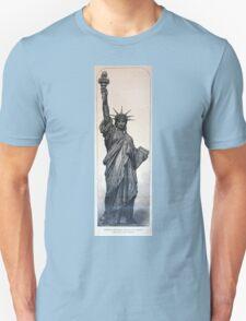 Statue of Liberty 1884 Unisex T-Shirt