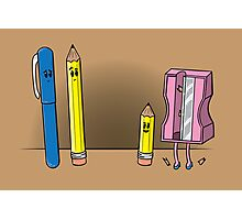 Get Your Pencil In Photographic Print