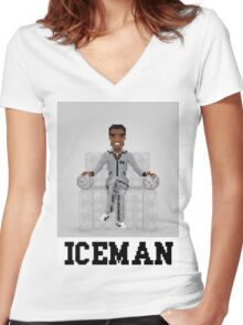 Iceman Women's Fitted V-Neck T-Shirt