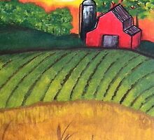 Farmscape by Keelie Webb