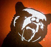 Grizzly Bear Graffiti by Edward Fielding