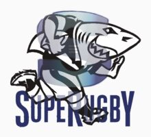 NATAL SHARKS SHARK ATTACK FOR SOUTH AFRICA RUGBY SUPER RUGBY by JAYSA2UK