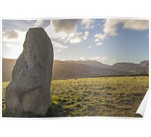 Sunrise over Castlerigg Stone Circle (1) Poster