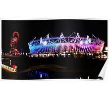 London 2012 Olympic Park Poster