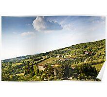 Chianti Region, Tuscany Poster