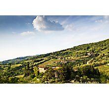 Chianti Region, Tuscany Photographic Print