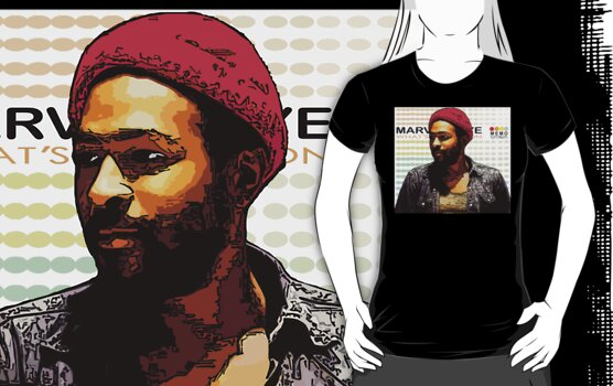 ODE TO MOTOWN: MARVIN GAYE by SOL  SKETCHES™