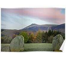 Sunrise over Castlerigg Stone Circle (3) Poster