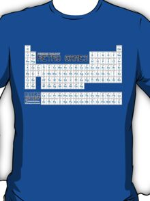 Periodic Table of Retro Games - Chemistry has never been so fun! T-Shirt