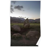 Sunrise over Castlerigg Stone Circle (4) Poster