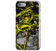 Caution - artistic iphone case iPhone Case/Skin