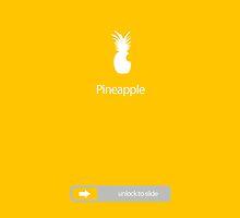 Pineapple - Slide to unlock by ChaimKrausz