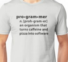 Programmer dictionary definition Unisex T-Shirt