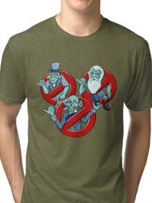 I Ain't Afraid Of No Ghosts Tri-blend T-Shirt