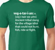 Vegetarian definition dictionairy Unisex T-Shirt