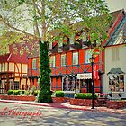 Streets of Solvang by Blondepixals