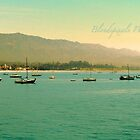 Santa Barbara Coastline by Blondepixals