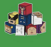 The Uncanny Blocks-Men One Piece - Short Sleeve