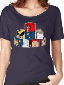 The Uncanny Blocks-Men Women's Relaxed Fit T-Shirt