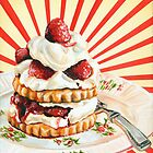 Raspberry Shortcake by Kelly  Gilleran