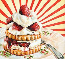 Raspberry Shortcake by KellyGilleran