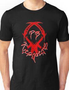PB Logo Dead Red Large Unisex T-Shirt