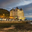 The Grand Hotel, Llandudno, Wales by ajwimages